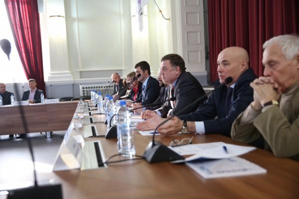 Участники Диалога по концепции Горового отчета ОАО УЭХК