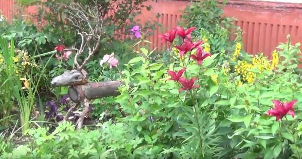 цветущие дворы