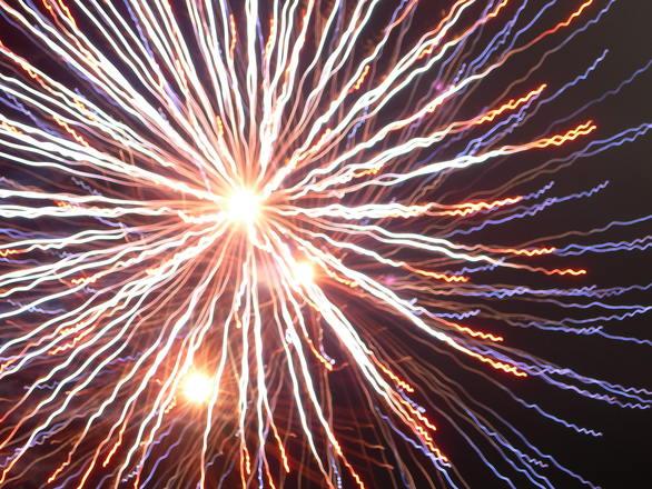 фейерверк праздник новый год