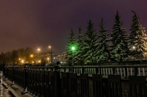 новоуральск вечер зима