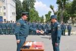 Вручение нагрудного знака «Специальные подразделения ФПС»