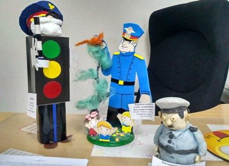 Детский творческий конкурс «Полицейский Дядя Степа»