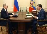 Владимир Путин и Евгений Куйвашев