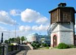 Водонапорная башня и дом Севастьянова