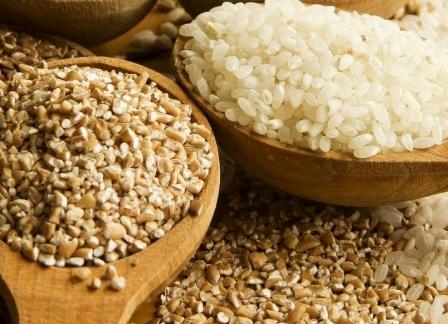 гречка и рис