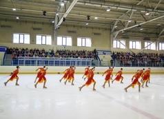 Кубкок Свердловской области по синхронному катанию на коньках