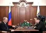 Алексей Лихачёв на встрече с Владимиром Путиным